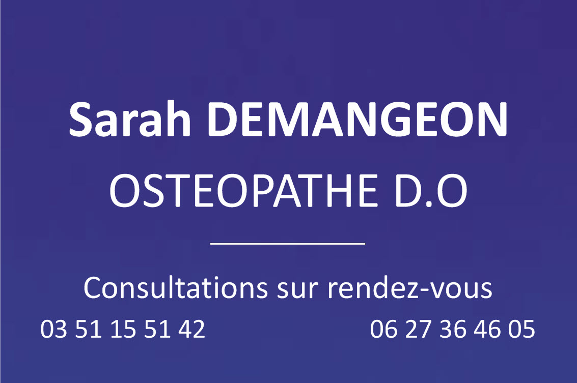 plaque osteopathe 300 mm x 200 mm bleu de france