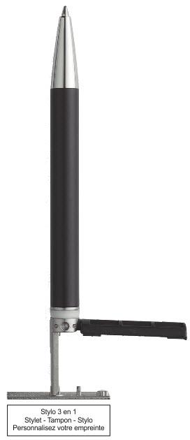 Trodat stylo tampon 3 en 1 - tampon