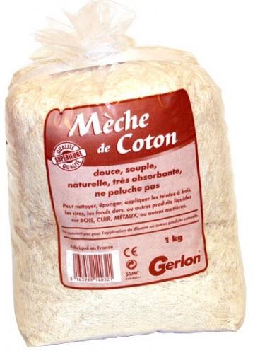 chiffon meche de coton pour plaque laiton professionnelle gravée