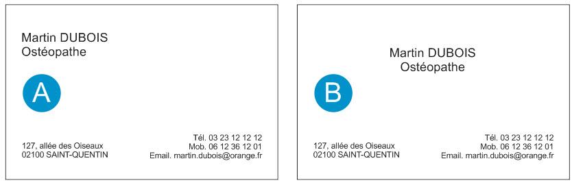 Format Cartes De Visite 128 Mm X 82