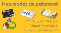information sur les modes de paiement